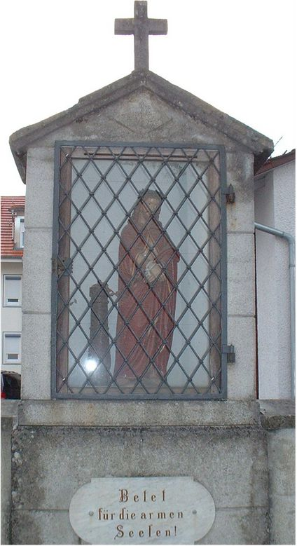 Jesus in Fesseln, Friedhof Ettenkirch